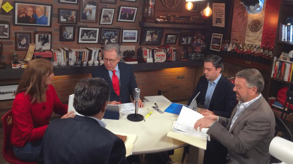 La Mesa de los coordinadores de campaña