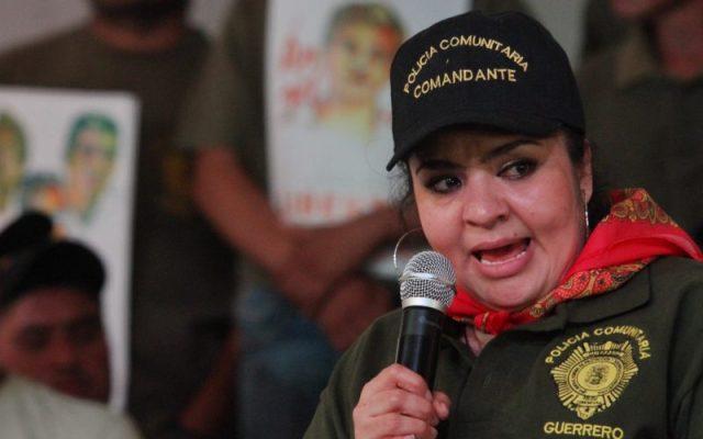 INE admitió haber pasado por alto doble nacionalidad de Nestora Salgado - Nestora Salgado. Foto de Animal Político