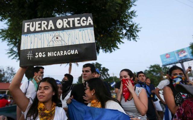 Estados Unidos pide a sus ciudadanos no viajar a Nicaragua - Foto de AP