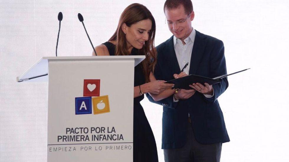Anaya, Meade y Zavala firman Pacto de la Primera Infancia - Foto de Internet