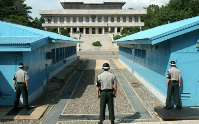 Norcorea y EE.UU. celebrarán diálogos antes de cumbre oficial - Área de Seguridad Conjunta de Panmunjom. Foto de Internet.