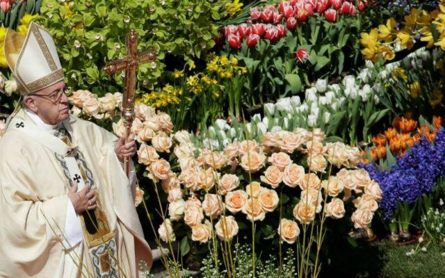 El papa clama por la paz en mensaje de Pascua - Foto de Reuters