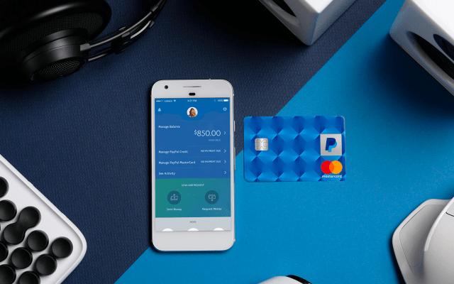 PayPal emitirá tarjetas de débito con posibilidad de retirar en cajeros