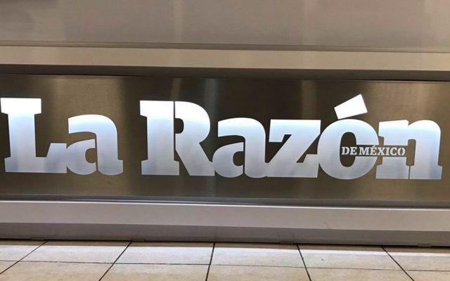 Asaltan instalaciones del periódico La Razón - Foto de @c4jimenez