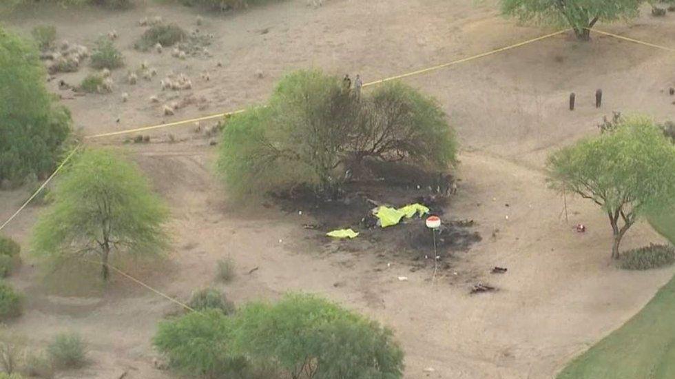 Accidente aéreo deja seis muertos en EE.UU.