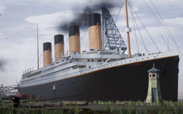 #Video Videojuego permitirá revivir el hundimiento del Titanic - Captura de Vintage Digital Revival