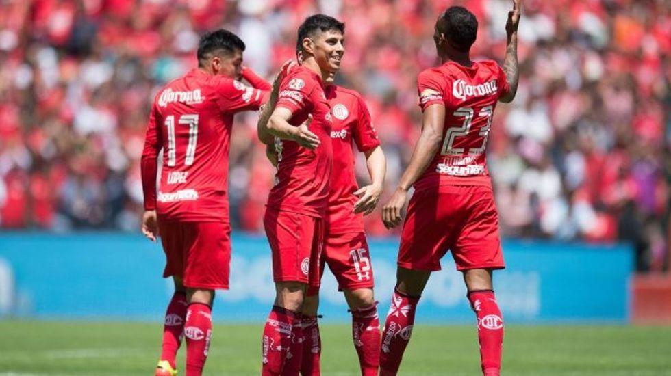 Toluca asegura liderato y liguilla al golear al Veracruz - Foto de Internet