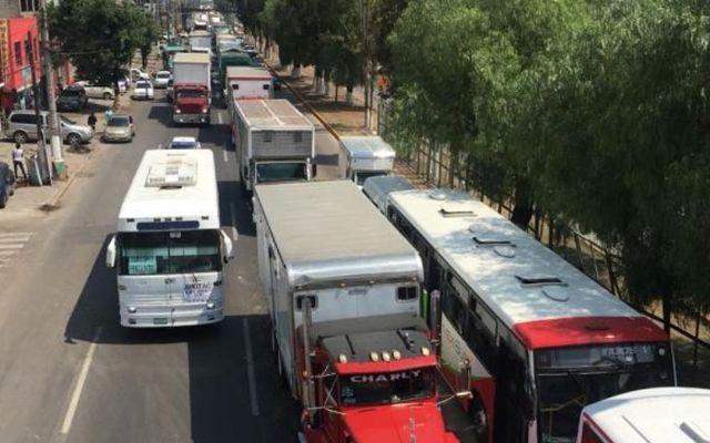 Traileros inician caravana a la Ciudad de México - Foto de Internet