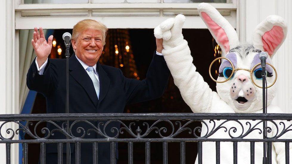 Trump festeja la Pascua en la Casa Blanca - Foto de AP