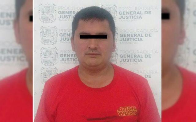Detienen a líder de organización criminal en Tamaulipas - Foto de Procuraduría de Tamaulipas