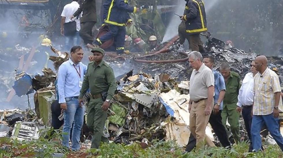 Cuba actuó de manera adecuada ante accidente aéreo: Díaz-Canel