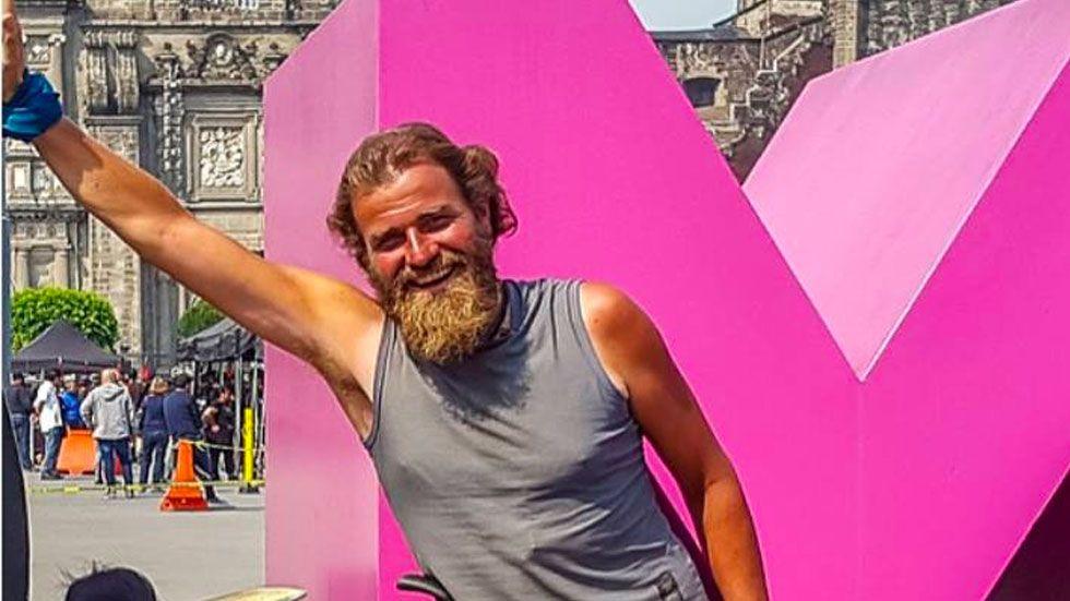 Desaparece ciclista alemán en Chiapas - Foto de Facebook