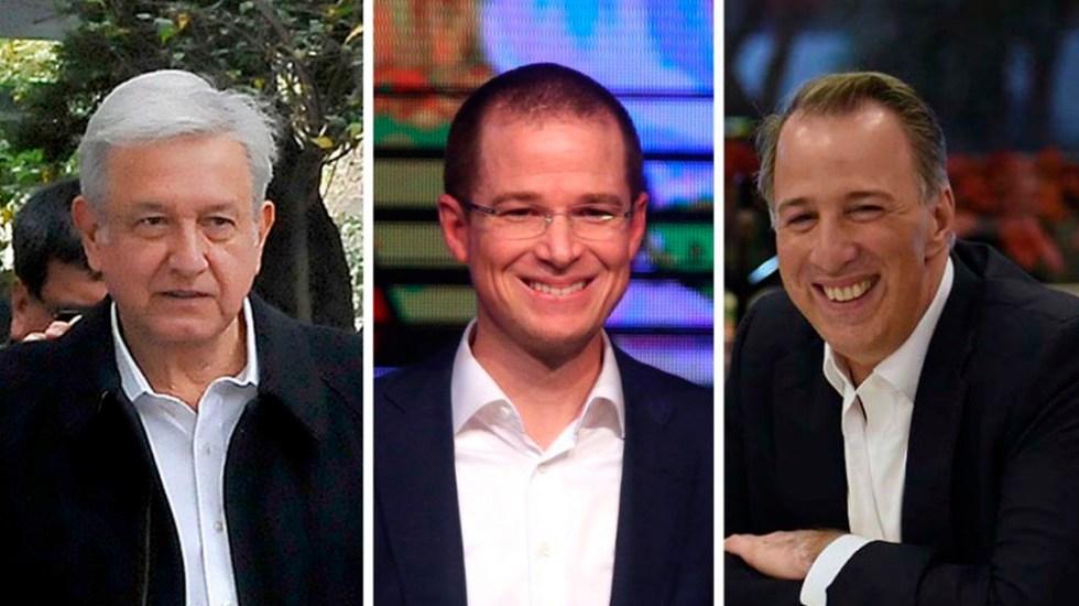 Así llegan los candidatos al 1 de julio: Mitofsky - Foto de El Financiero