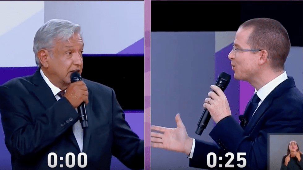 Así se enfrentaron Ricardo Anaya y López Obrador - Captura de Pantalla