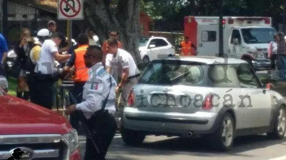 Automovilista muerto en Uruapan era supuesto jefe de plaza