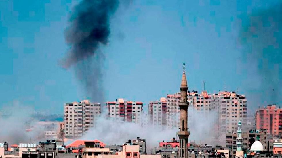 Israel bombardea Gaza tras ataque - Foto de AFP