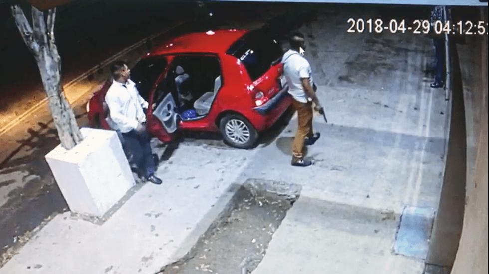 #Video Así fue el doble homicidio afuera del bar Sambuka