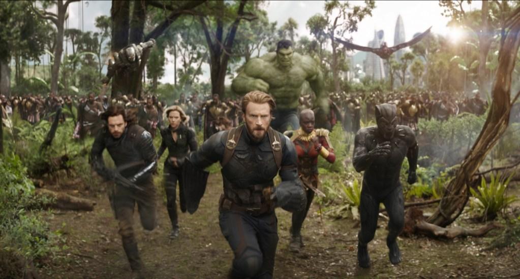 'Infinity War' sigue dominando las taquillas en su segunda semana - Captura de Pantalla