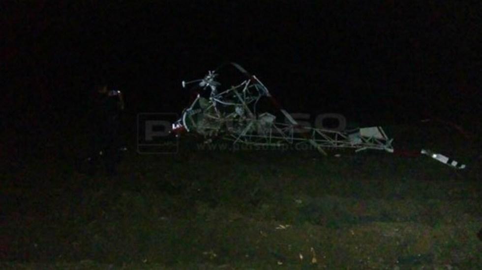 Se desploma avión pequeño en San Luis Potosí - Foto Pulso de San Luis