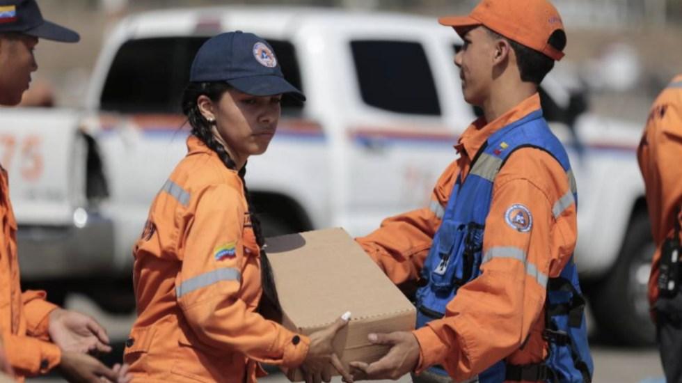 Venezuela envía 12 toneladas de ayuda humanitaria a Cuba - Foto de @NestorReverol