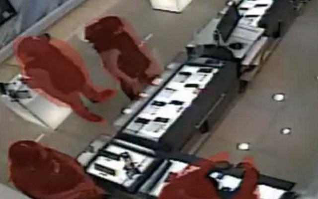 #Video Así operan los ladrones de celulares en la Ciudad de México - Captura de pantalla