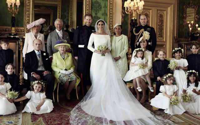 Los retratos oficiales de la boda del príncipe Harry y Meghan Markle - Foto de Facebook The Royal Family