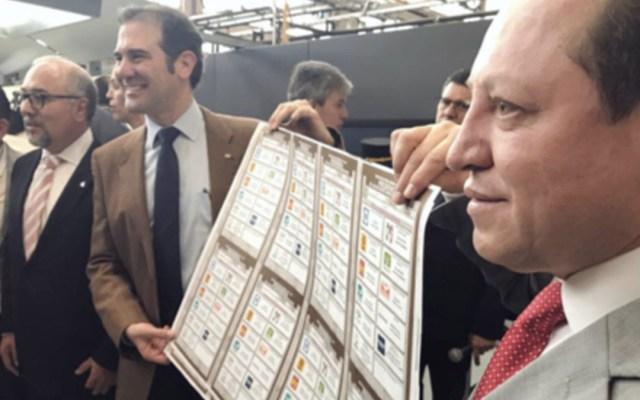 Boletas electorales no se modificarán tras renuncia de Margarita: INE - Foto de Internet