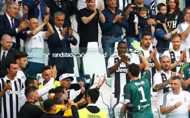 Emotivo adiós de Gianluigi Buffon de la Juventus - Foto de Reuters