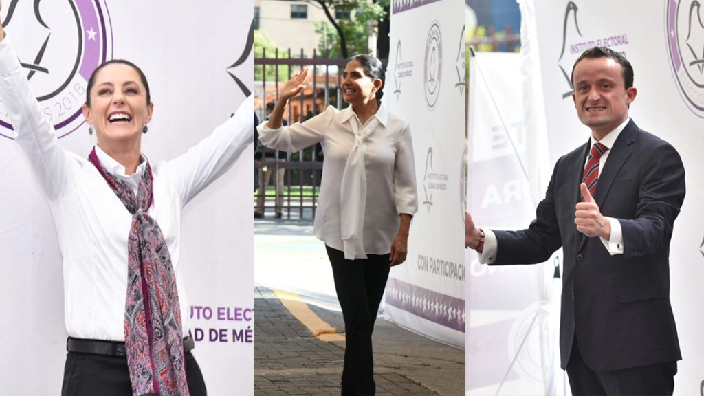 Así llegaron los candidatos a segundo debate por Jefatura de Gobierno - Foto de Archivo