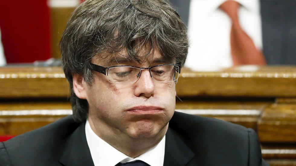 Puigdemont renuncia a ser escogido presidente de Catalán
