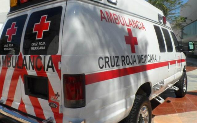Niño atropella en moto a una menor de 12 años en Durango - Foto de Cruz Roja Mexicana