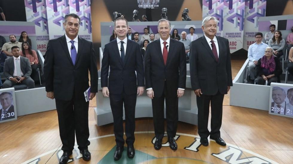 Anaya abrirá el último debate presidencial - Foto de INE