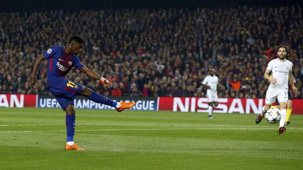 Desmienten salida de Dembélé del Barcelona - Foto de AP