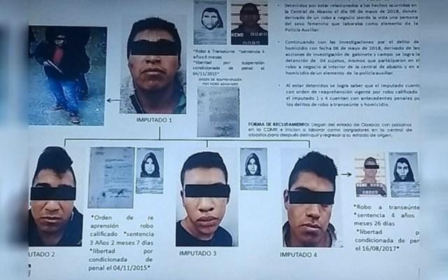 Vinculan a proceso a cuatro por asesinato de policía en Central de Abasto - Foto de Internet