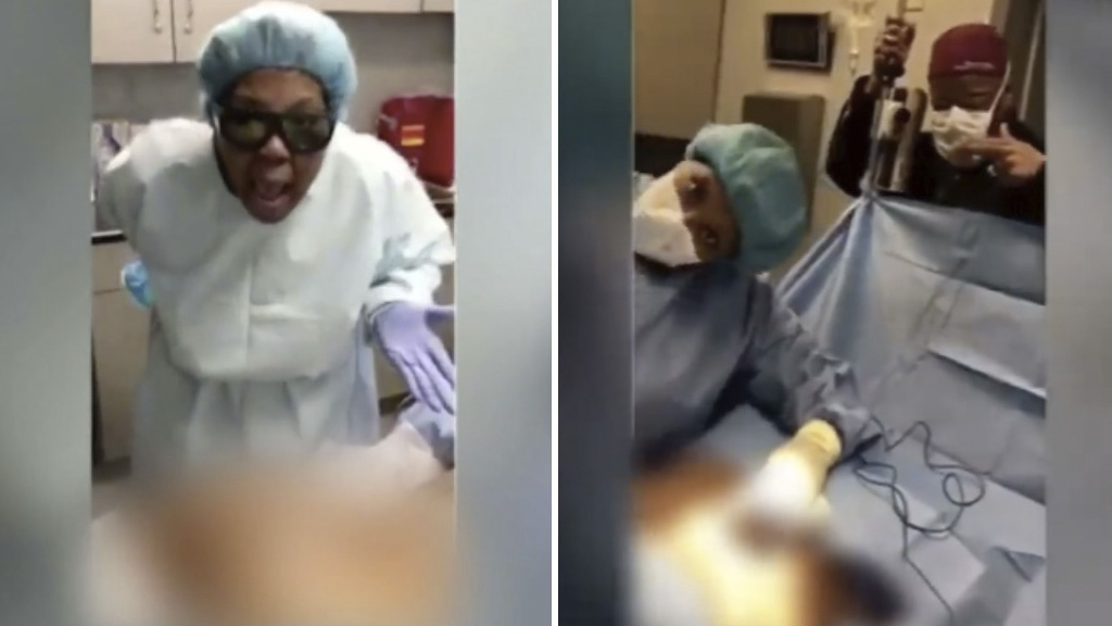 Demandan a doctora que bailaba mientras operaba a sus pacientes