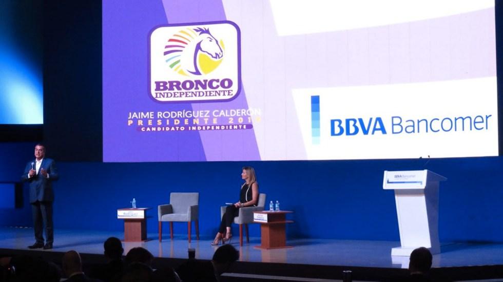 Foto de Twitter Prensa Bancomer
