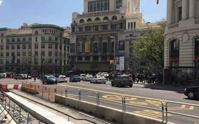 Evacuan centro de Madrid por fuga de gas - Foto de RT