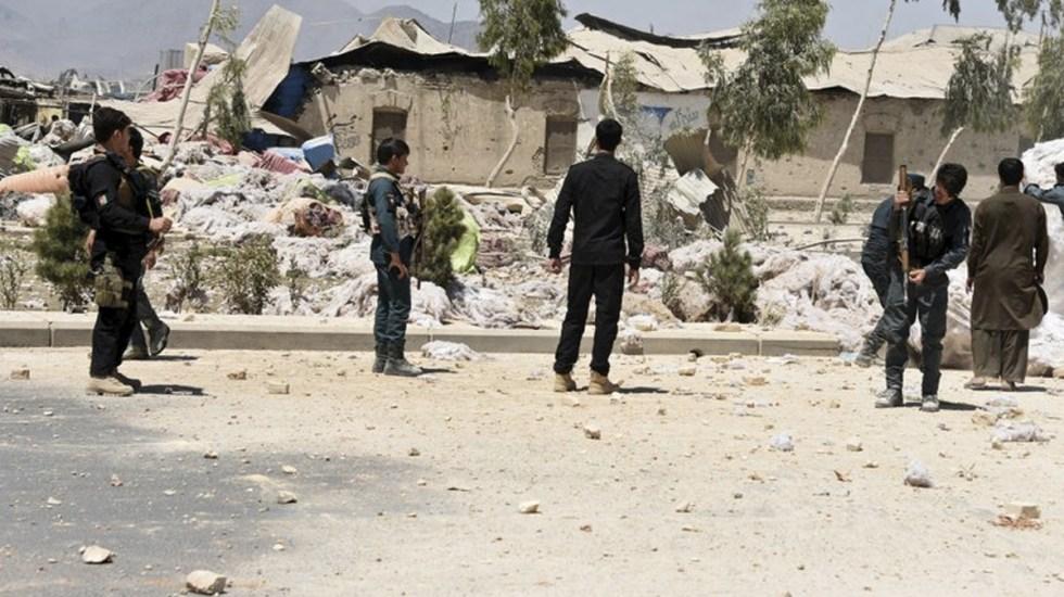 Al menos 16 muertos por explosión de bomba en Afganistán - Foto de AP