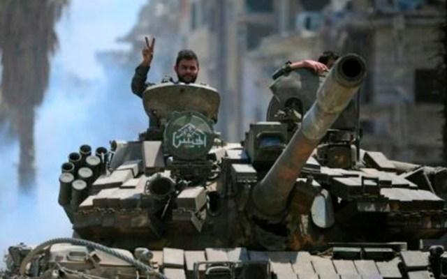 Siria toma control total de Damasco tras expulsar al Estado Islámico - Foto de AFP