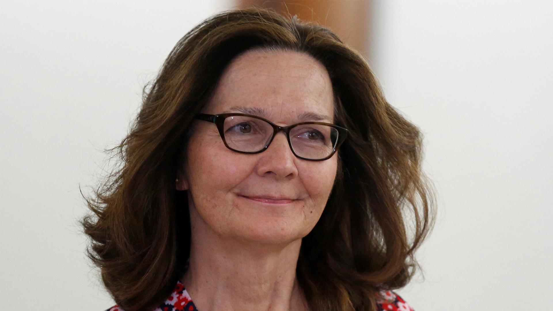 Comisión recomienda confirmar a Haspel como directora CIA