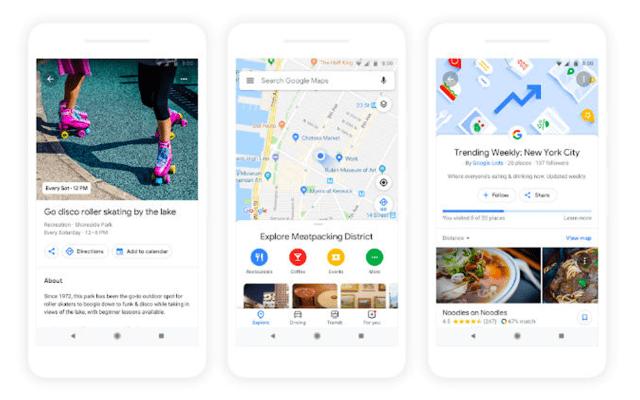 Llegan tres grandes novedades a Google Maps