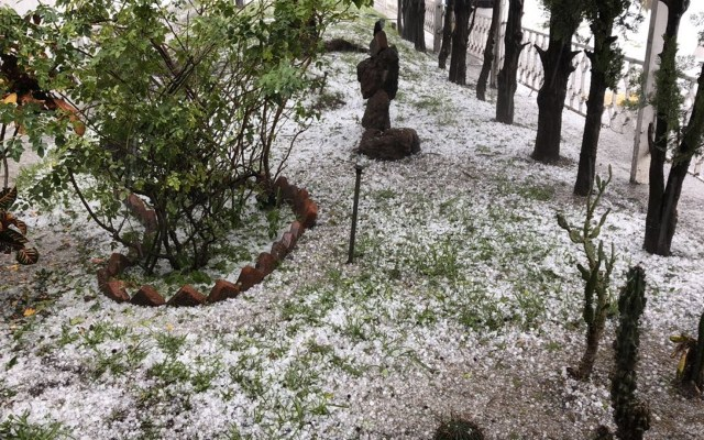 #Video Intensa granizada en Guadalajara - Foto de PC Jalisco