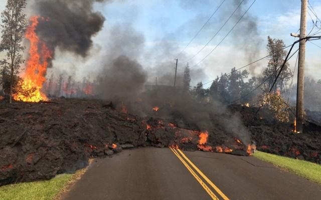 Erupciones del Kilauea desplazan a mil 700 habitantes - Foto de Hawaii News Now
