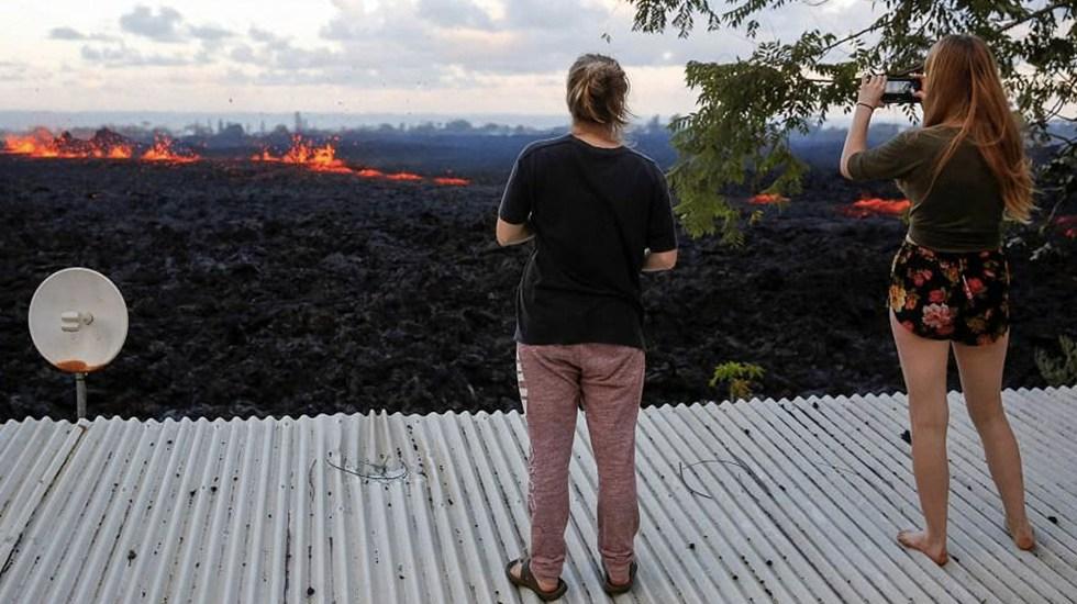 Alerta roja por erupción inminente del volcán Kilauea - Foto de AP