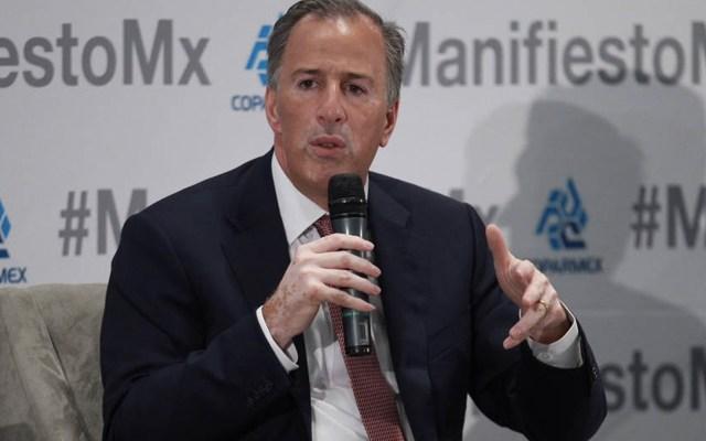 """""""La política exterior de México no se ejerce a tuitazos"""": Meade a Trump - Foto de Quadratín"""