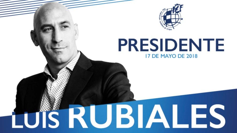 Luis Rubiales es nuevo presidente de la Real Federación Española de Futbol - Foto de RFEF