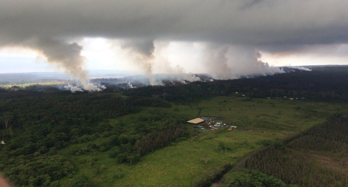 Alerta en Hawaii: la actividad volcánica podría volverse