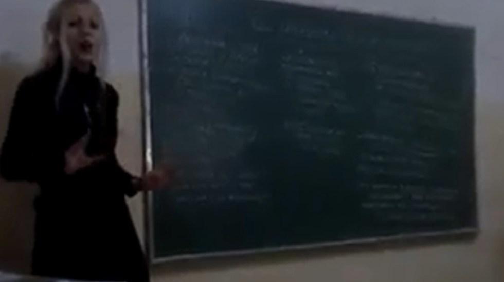 Despiden a maestra en Argentina por defender a Hitler - Captura de pantalla