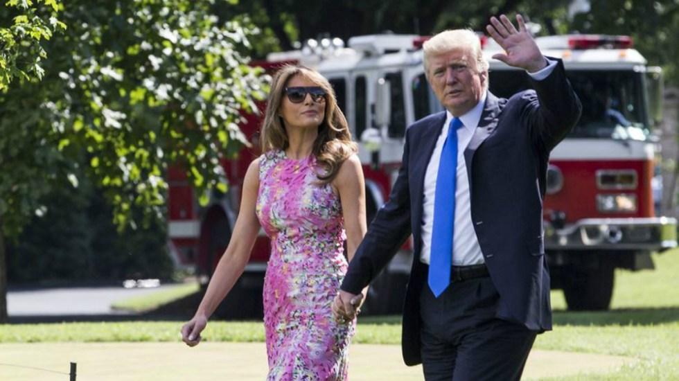 Trump informó sobre estado de salud de su esposa Melania - Foto de Business Insider