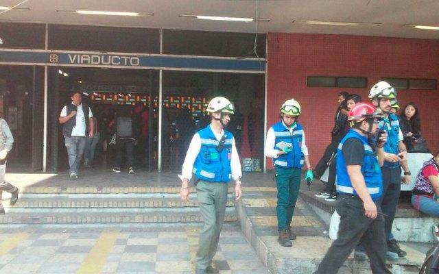 Hombre se suicida en Metro Viaducto - Foto de Excélsior